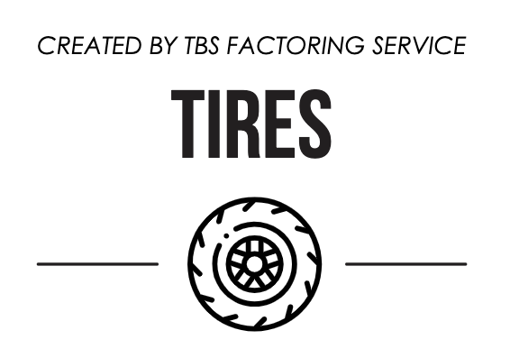 Created by TBS Factoring Service, Tires