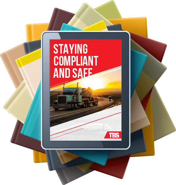 Article on tablet called Staying Compliant and Safe