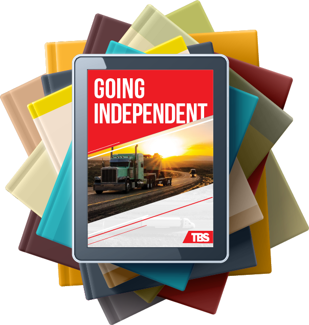 Article on tablet called Going Independent
