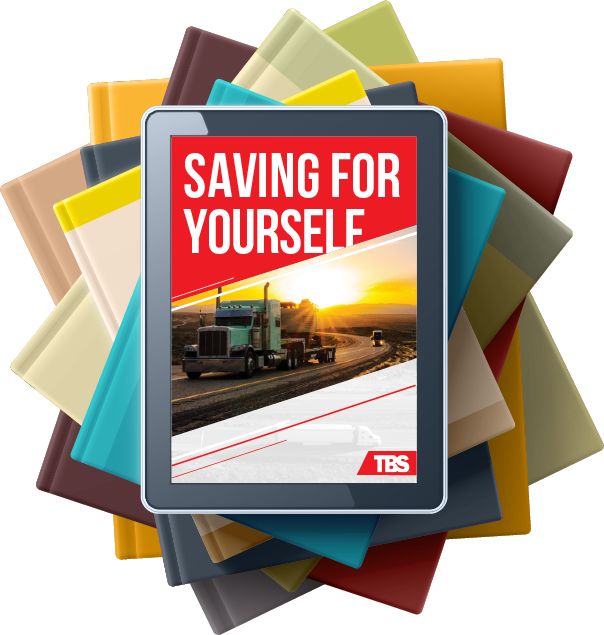 Article on tablet called Saving For Yourself